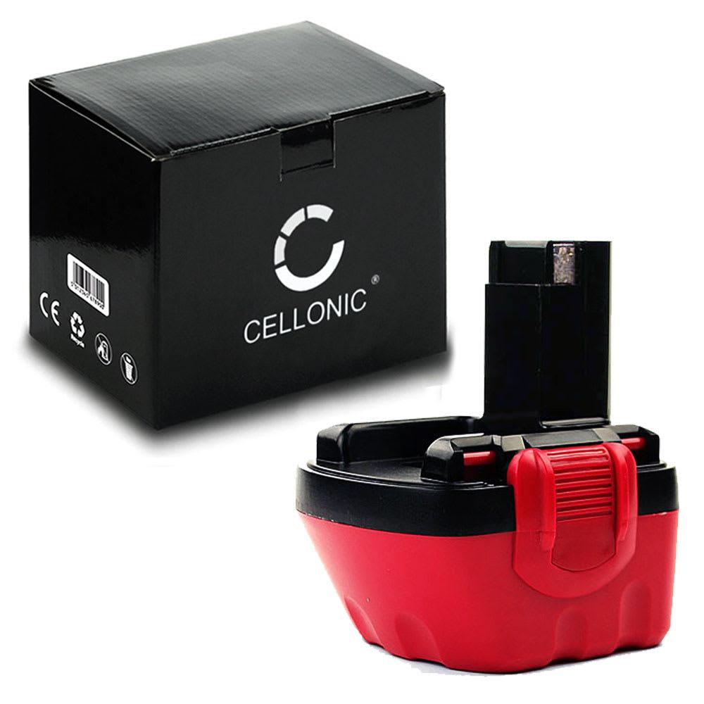 CELLONIC® 12V NiMH Power Tool Battery for Bosch GSR 12V, GSR12,PSR12,PSR12 VE-2, PSR12-2, PSR 1200,GLI 12 V 3Ah 2607335261, 2607335531, 2607335274, BAT043, 2607335430, 2607335541 Battery Replacement