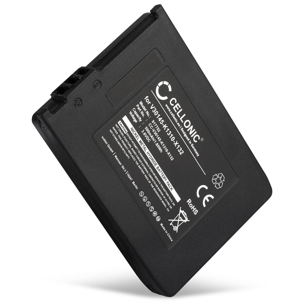 Batterie pour téléphone fixe Siemens Gigaset 4000 Micro, 4010, 4015, 4215, Gigaset SL3501, Gigaset M1, Active M, Telekom Sinus 710, Sinus 700M, Swisscom TOP S317 - V30145-K1310-X132, L36880-N5401-A102 500mAh