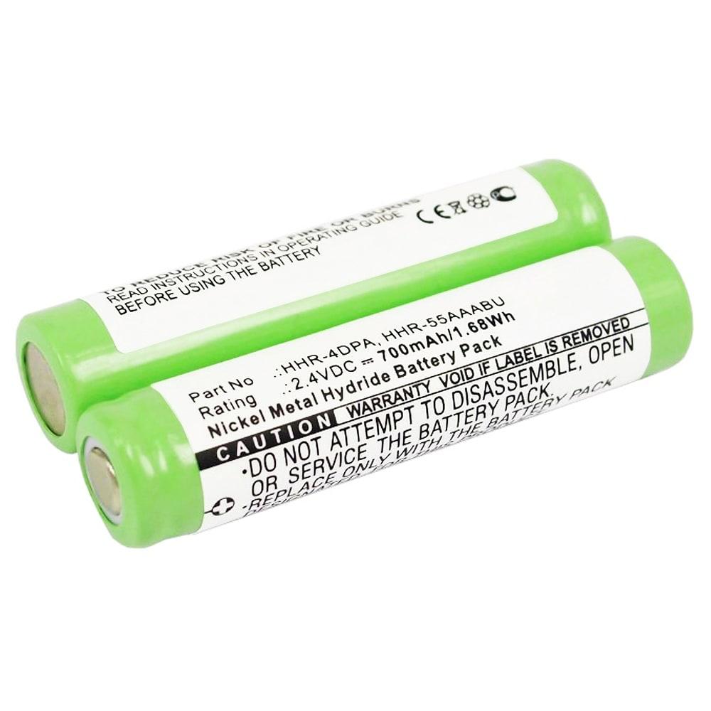 Batterie pour téléphone fixe Panasonic KX-TG6572 KX-TG6511 KX-TG6411 KX-TG4021 KX-TG4011 KX-TG1061 KX-TG1031 KX-TG9391 KX-TGA641 KX-TGA651 - HHR-4DPA,HHR-55AAABU, HHR-55AAAB 700mAh
