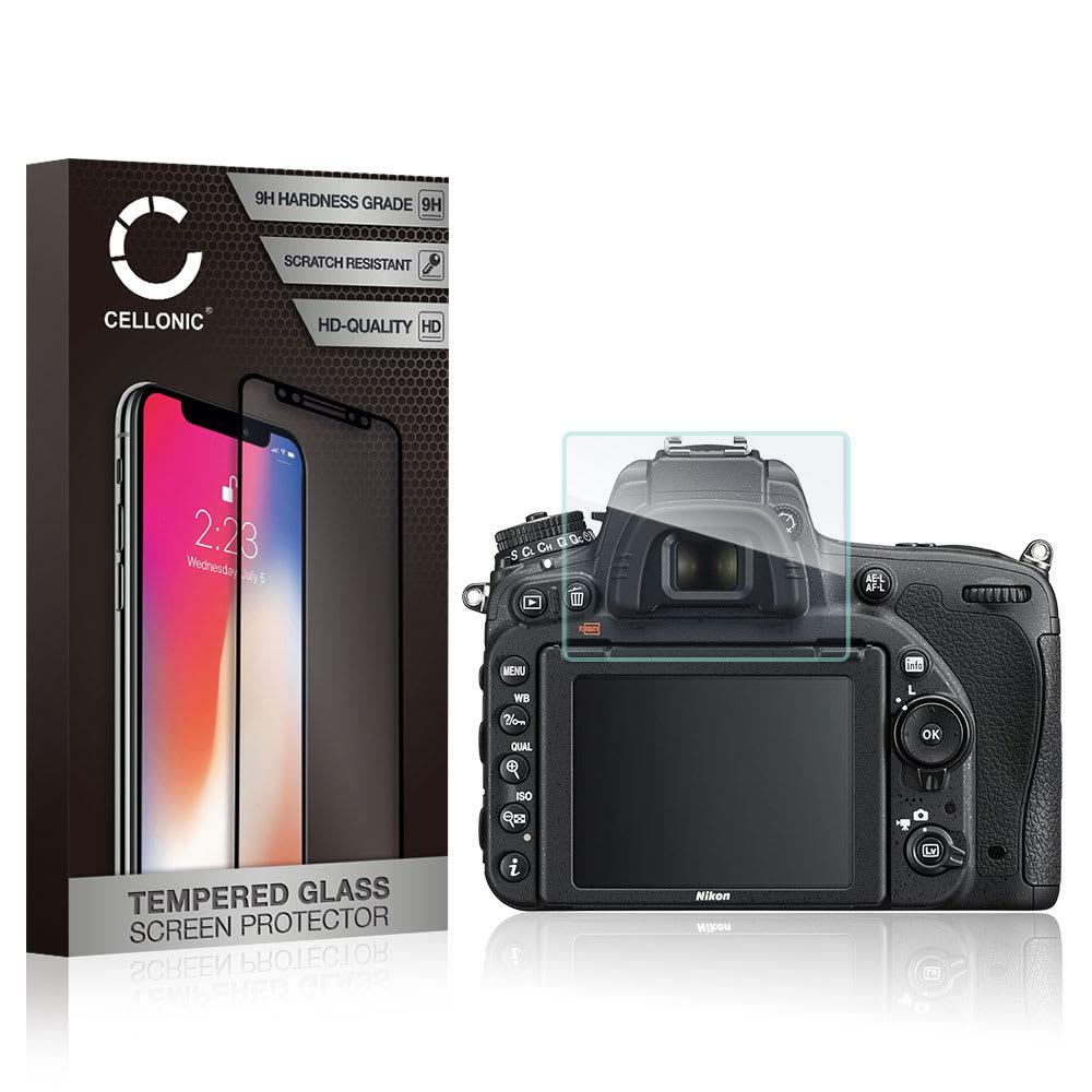 Protection d'écran en verre Nikon D750 D800e D810 D850 D5100 D5200 D7100 / P510 P530 | Fuji FinePix S2950 S4000 (transparent, 9H, 0,33mm, ) Verre trempé
