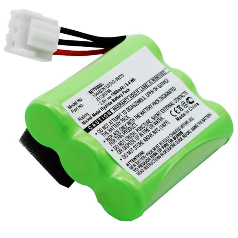 Batterie pour Sagem Monetel EFT930 Monetel EFT930B Monetel EFT930G Monetel EFT930P - 1044B3N150SV3-39270, 251360788, MGL8602 1500mAh