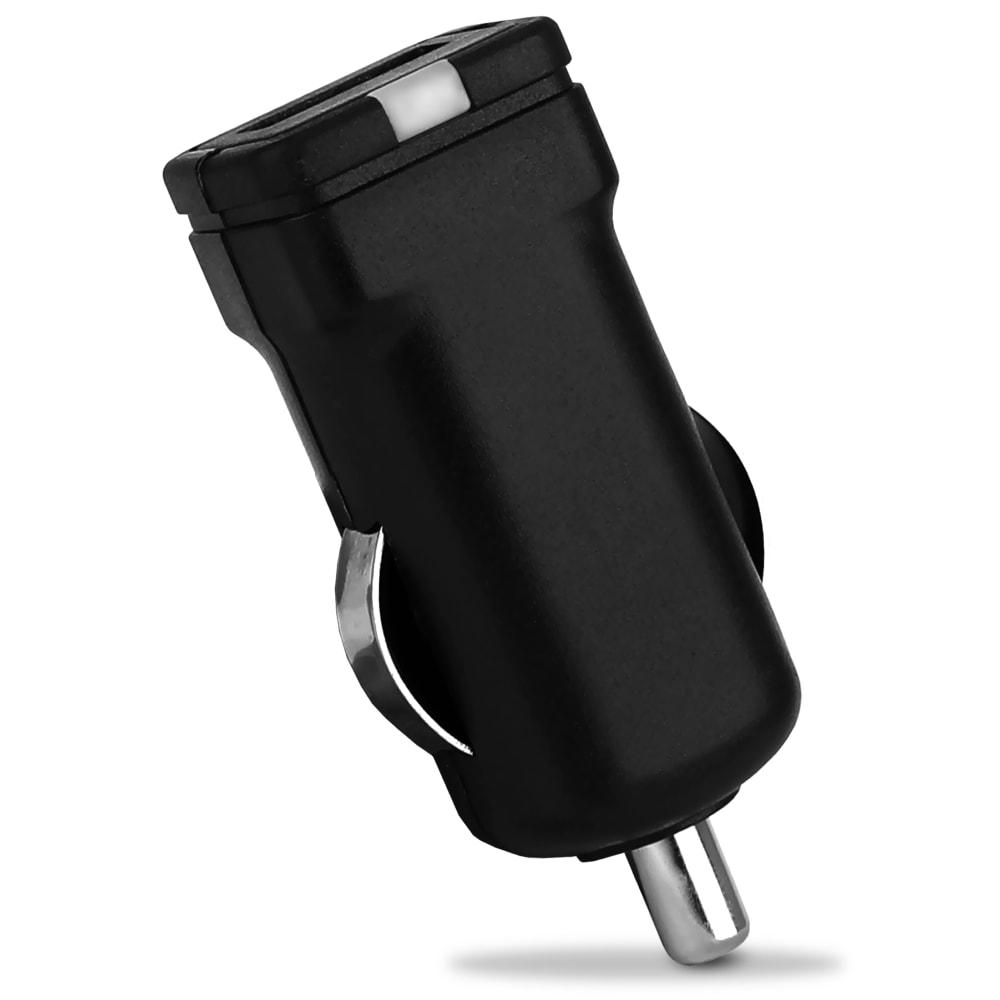 Chargeur USB voiture (12V / 24V) pour 5V / 1A, 1000mA - 1 USB Port Adaptateur de charge USB