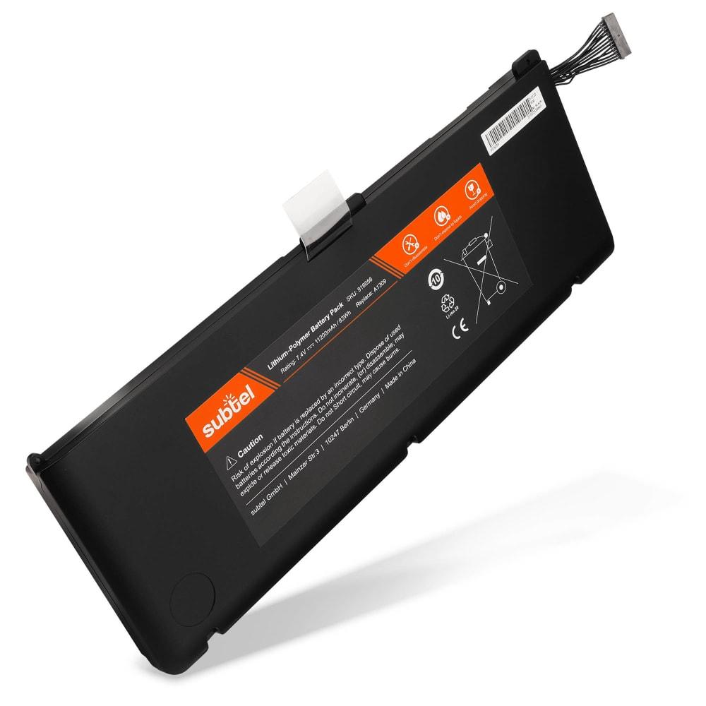 Laptop batterij voor MacBook Pro 17 - A1297 (2009/2010) - A1309 11200mAh vervangende accu notebook