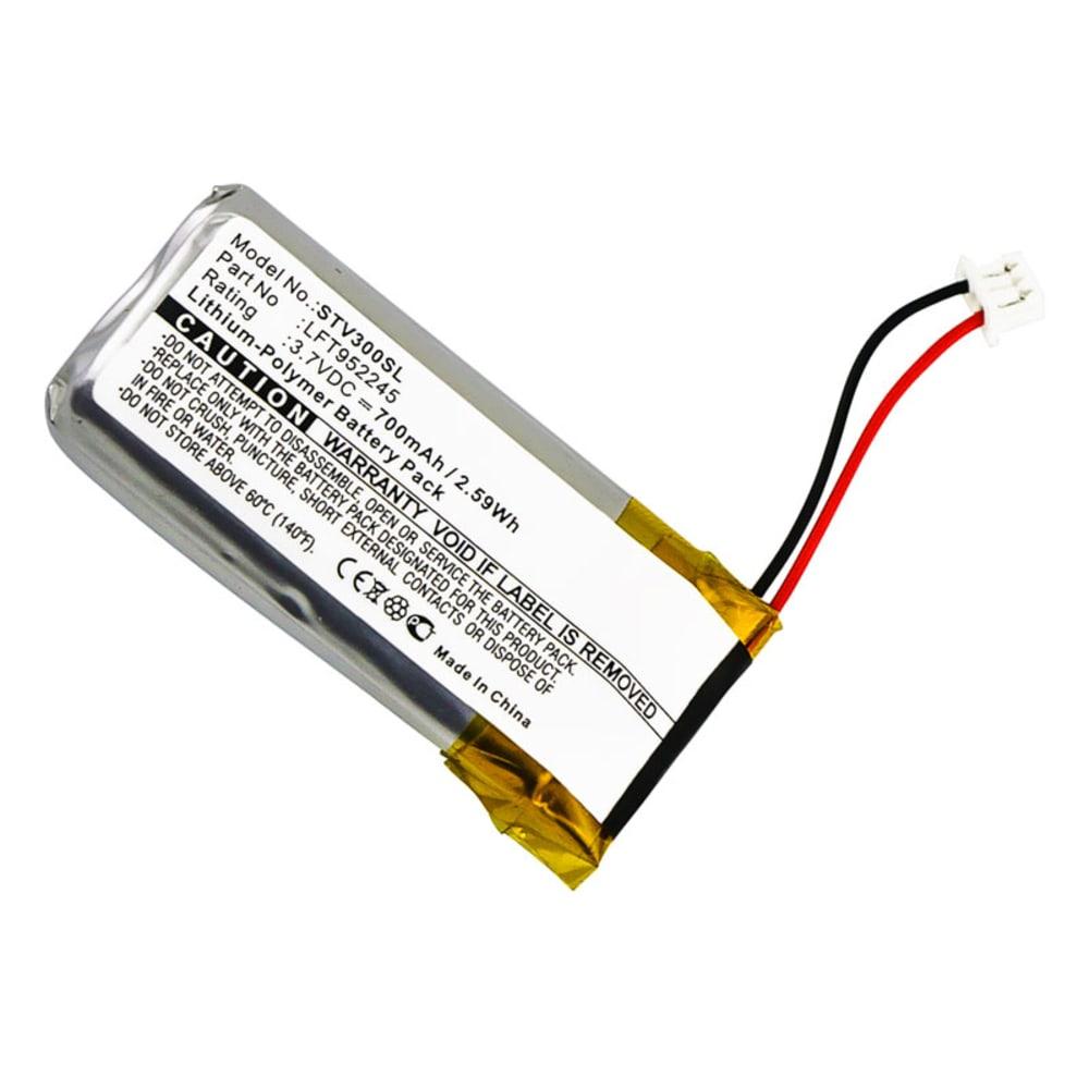 Batterie pour Stageclix Jack V4 Transmitter, Stageclix Jack Transmitter (V3) - LFT952245 1x 700mAh