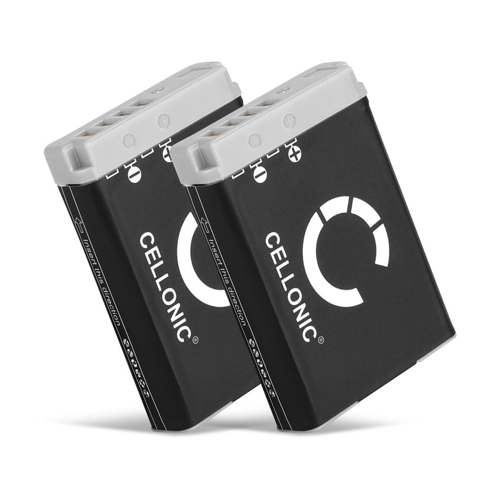 2x Batterie pour appareil photo Canon PowerShot G7 X Mark II G1x Mark III G5 X G9 X Mark II PowerShot SX740 HS SX 620 HS SX720 HS SX730 HS - NB-13L 1050mAh Batterie Remplacement