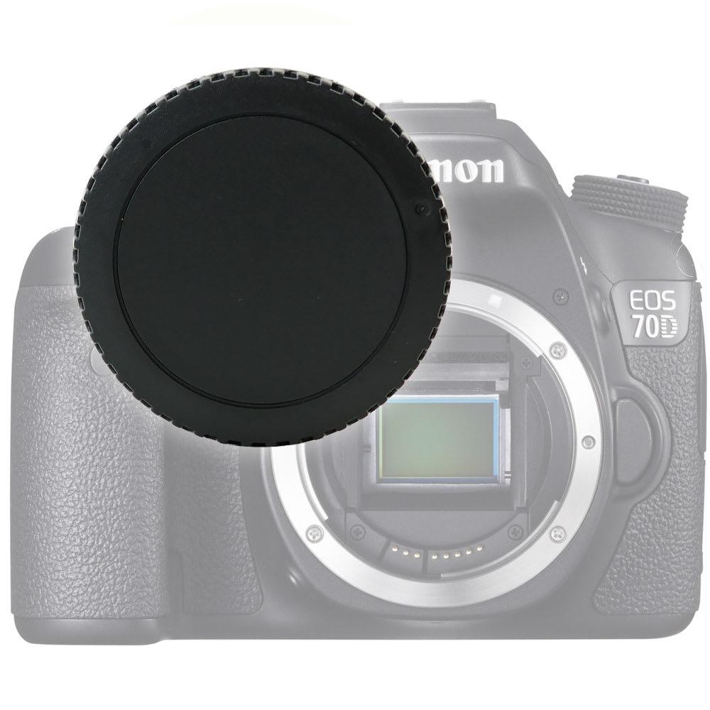 Gehäusedeckel Body Cap für Canon EOS 70D, EOS 7D, EOS 6D, EOS 700D, EOS 100D.., EOS Rebel (Canon RF-3), Bajonettverschluss Kappe, Schutzdeckel Canon EF, EF-S Mount