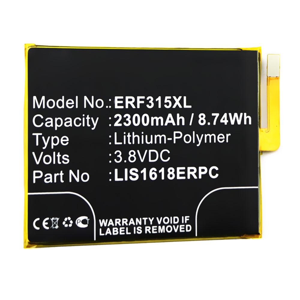 Batterie pour téléphone portableSony Xperia E5 - LIS1618ERPC, 1298-9239, 2300mAh interne neuve , kit de remplacement / rechange