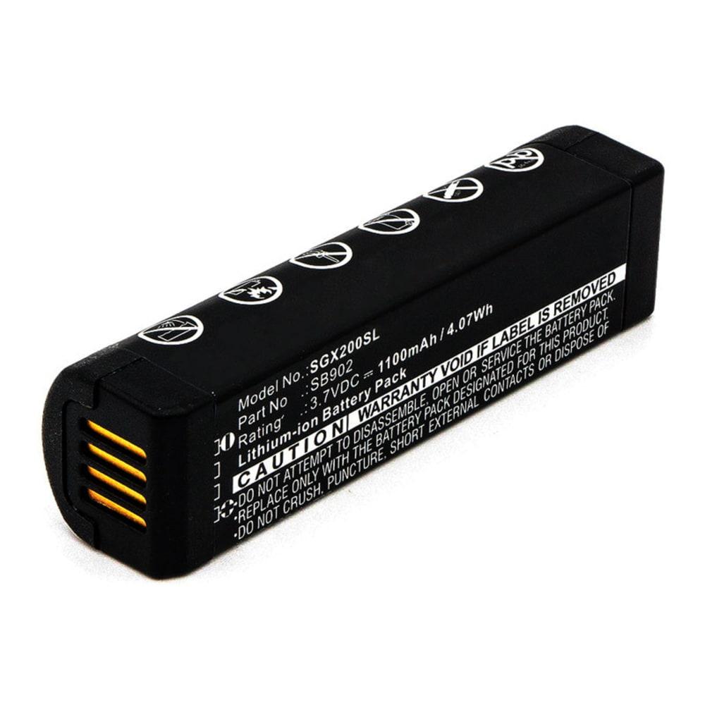 Lautsprecher Akku für Shure GLX-D Digital Wireless Systems, GLXD1, GLXD2, MXW2 - SB902, SB902A 1100mAh Soundbox Ersatzakku, Batterie
