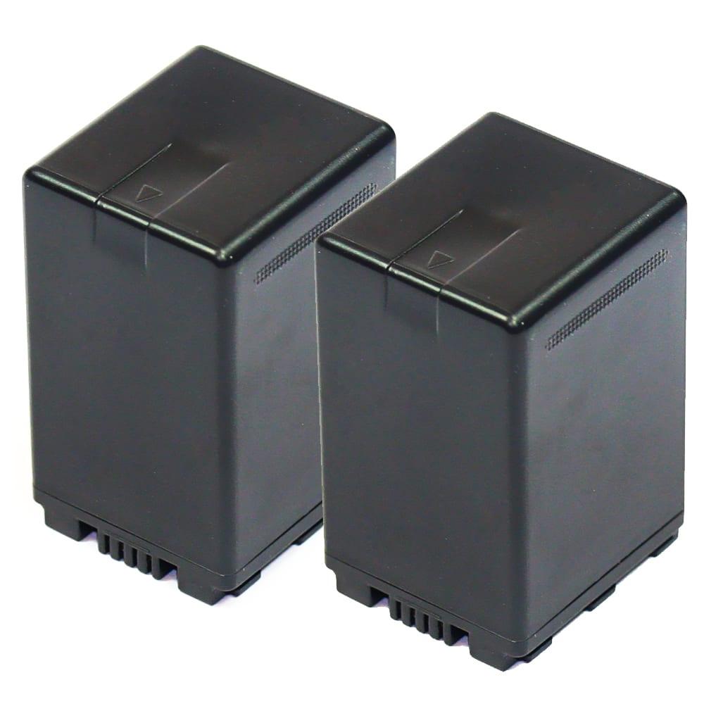 2x Batterie pour appareil photo Panasonic HC-X800 -X810 HC-X900 -X909 HC-X910 -X920 -X929 HDC-HS900 HDC-SD800 -SD900 -SD909 HDC-TM900 - VW-VBN130 VW-VBN260 VW-VBN390 3300mAh Batterie Remplacement