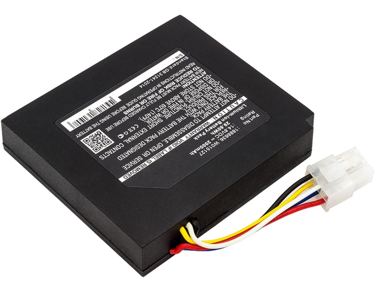 Batterie pour Dymo LabelManager 500TS LabelManager PnP Wireless MobileLabeler XTL 300 XTL 500 Label Maker - 1888636,634169A,W015127 2000mAh