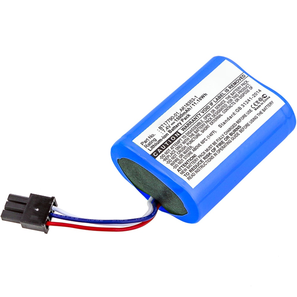 Battery for (1500mAh) Spare Battery Replacement