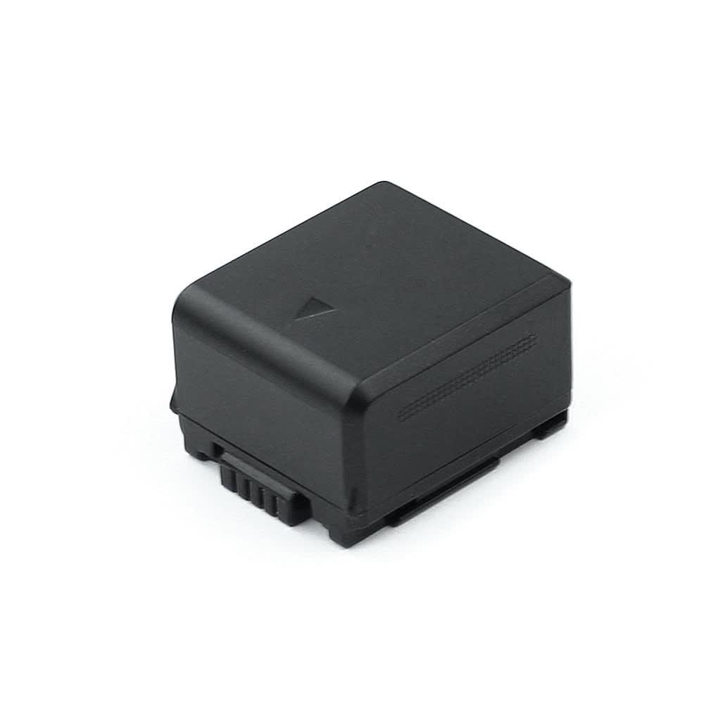 Batterie pour Panasonic HDC-SD10, -SD707, -SD600, -SD9, HDC-TM700, SDR-H250, -H20, -H40, Lumix DMC-L10 - VW-VBG130,DMW-BLA13 (750mAh) Batterie de remplacement