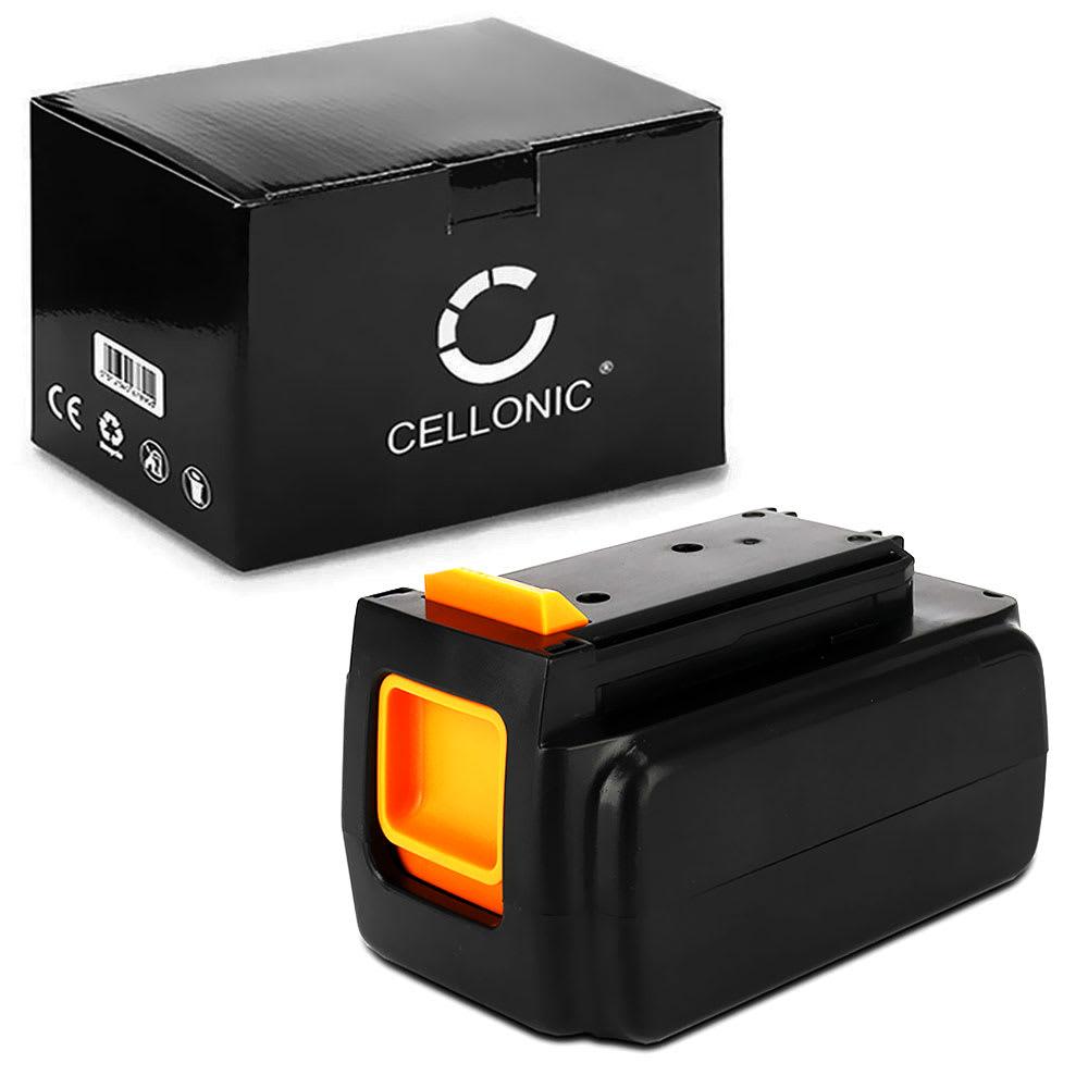 Batterie 36V, 2Ah, Li Ion pour Black & Decker GLC3630L20, GWC3600L20, GTC18502PC - BL1336, LBX2040, LBXR36, BL536, LBX1540-2, LBX36 batterie de rechange pour outils électroportatifs