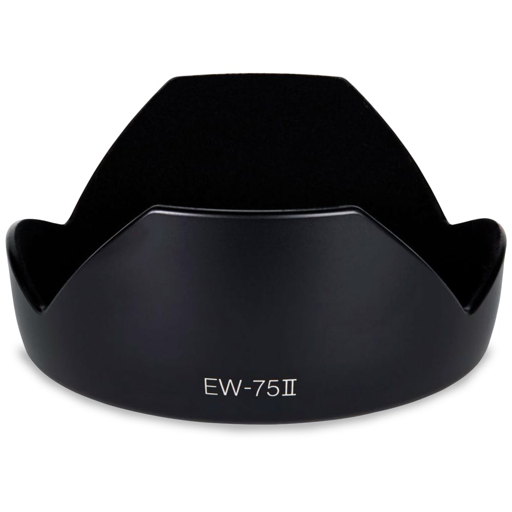 CELLONIC® EW-75 II Sonnenblende für Objektiv Canon EF 20mm 1:2,8 USM Blende Gegenlichtblende