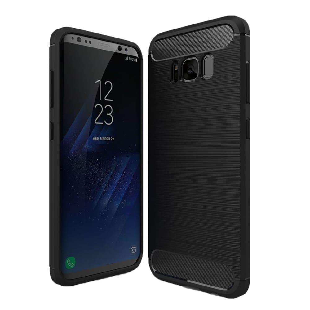 Backcover pour Samsung Galaxy S8 (SM-G950) - TPU, noir Etui,Housse, Coque, Pochette