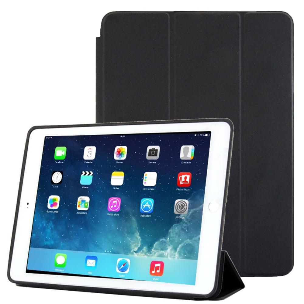 Etui Smart Case pour iPad Air 2 (Wake / Sleep) - Plastique, noir Housse Pochette