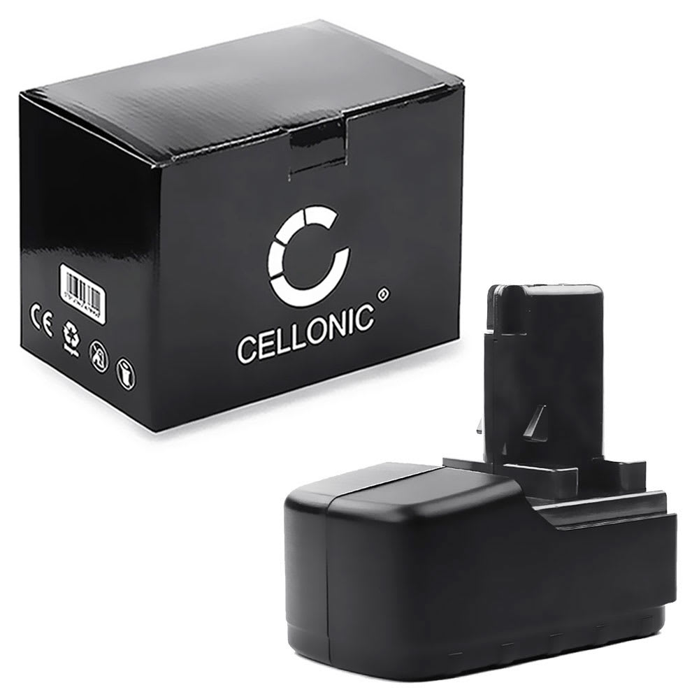 CELLONIC® 15.6V NiMH Power Tool Battery for Metabo BSP 15.6Plus, BST15.6 Plus, BST 15.6 Plus,BST 15.6 Impuls, ULA9.6-18 3Ah 6.02260.00,6.02276.51,6.02293.50, 6.02307.51,6.31738, 6.31738 Battery Replacement