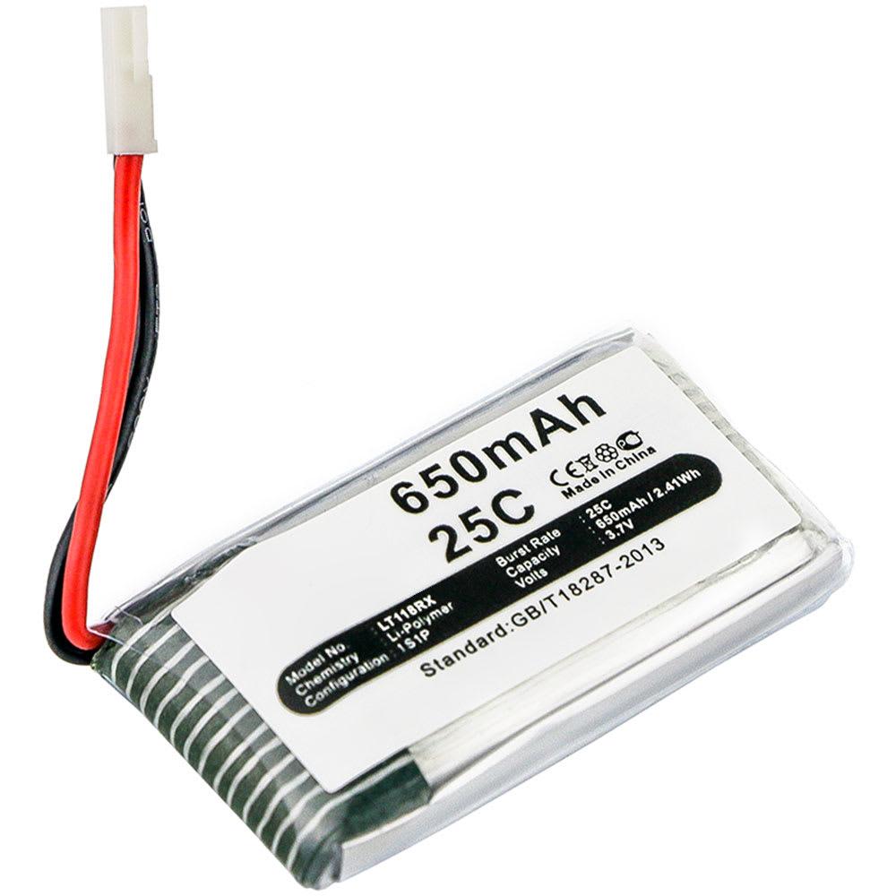 Batterie pour Syma X5C X5SW X5 X5SC X5C-1 / Hubsan H107C H107D / WLToys V931 - Hubsan H107C-A24 650mAh