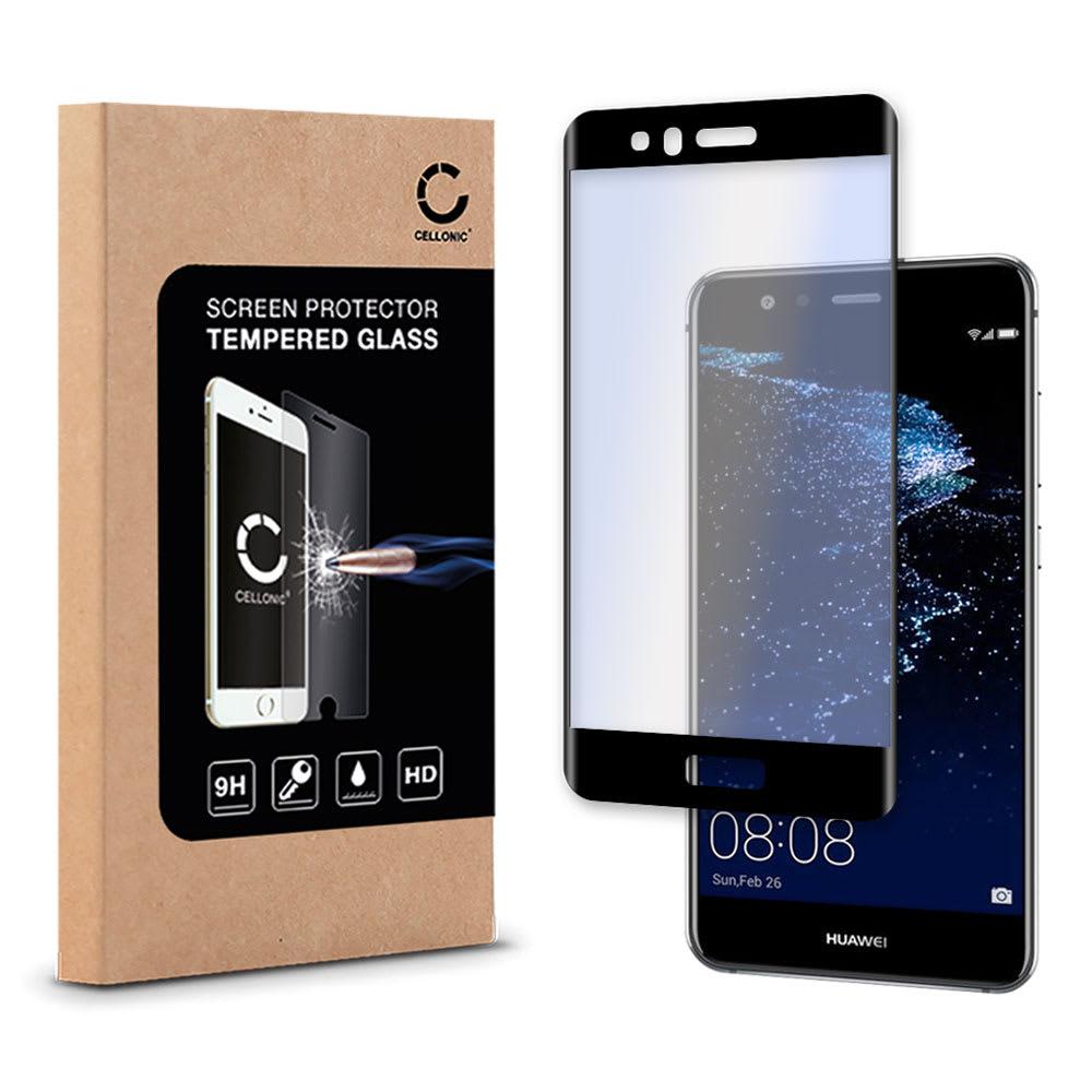 Protection d'écran en verre Huawei P10 Lite (3D Full Cover, 9H, 0,33mm, Edge Glue) Verre trempé