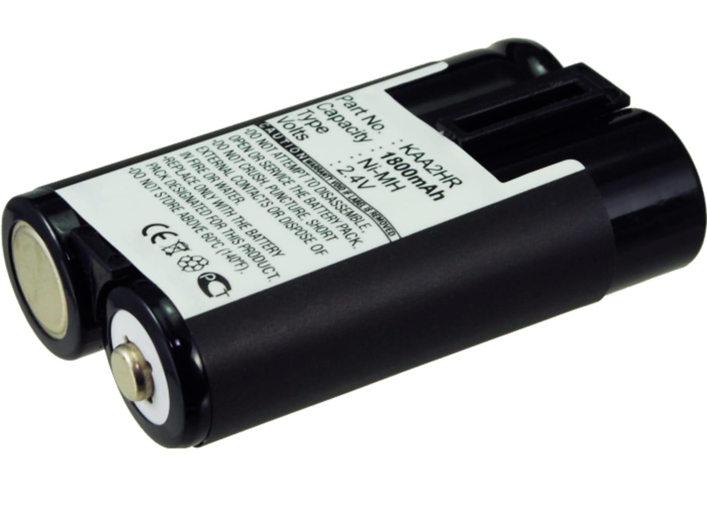 Akku für Kodak Easyshare Z650 Z710 Z740, C613 C713 C813, ZD710, Fuji FinePix S5000 (1800mAh) NH-10