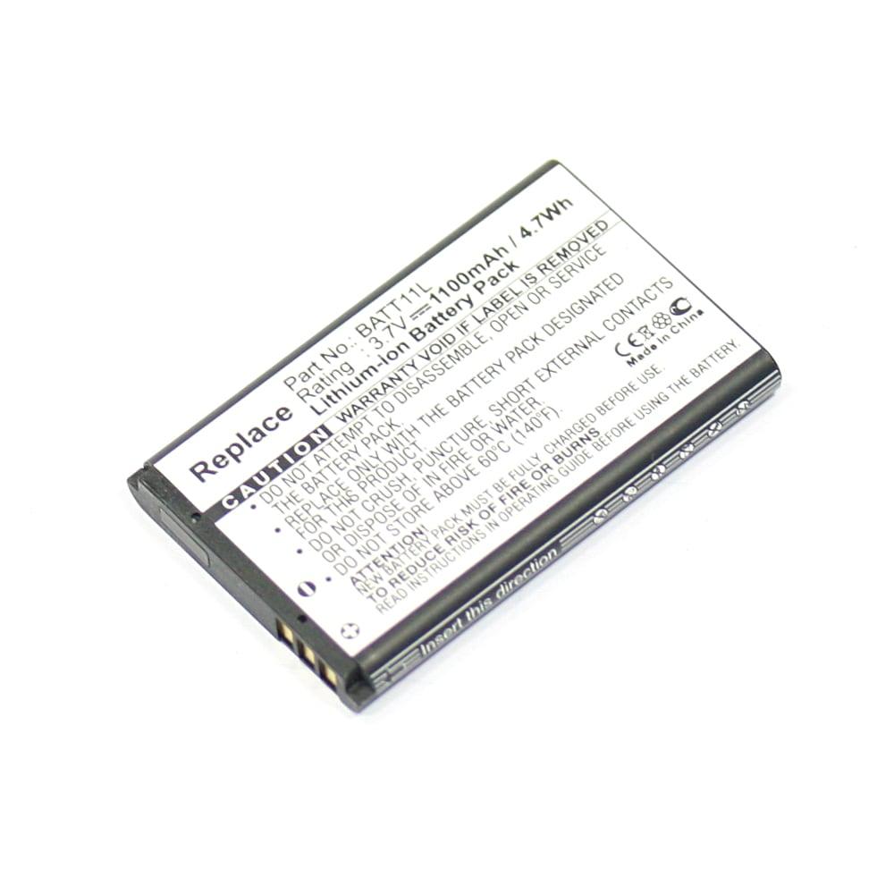 BATT11L PX-1295 PX-1296 LD-1W LD-3W VIV-VB-4C VTV-VB-5C Battery for Midland XTA-510 XTC-300 XTC-300VP4 XTC-350 MDV-2250.HD MDV-2250.IR 1100mAh Digital Camera Battery Replacement Spare Battery Backup Power Pack