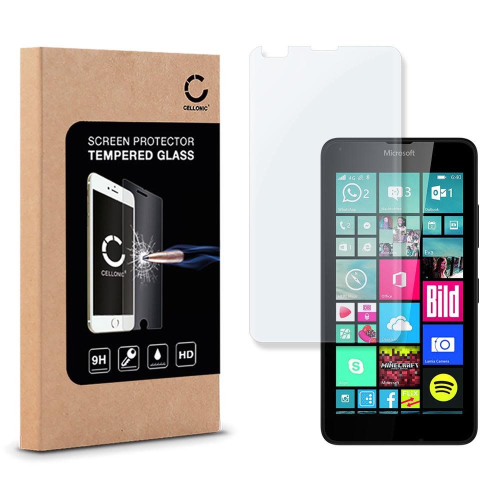 Protection d'écran en verre Microsoft Lumia 640 (2.5D, 9H, 0,33mm, Full Glue) Verre trempé