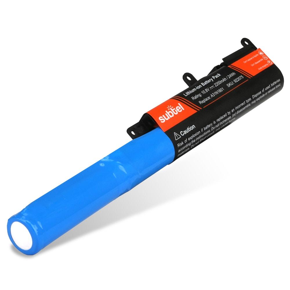 Batterie de remplacement pour ordinateur portable Asus VivoBook Max X541 / R541 / F541 - A31N1601 2200mAh