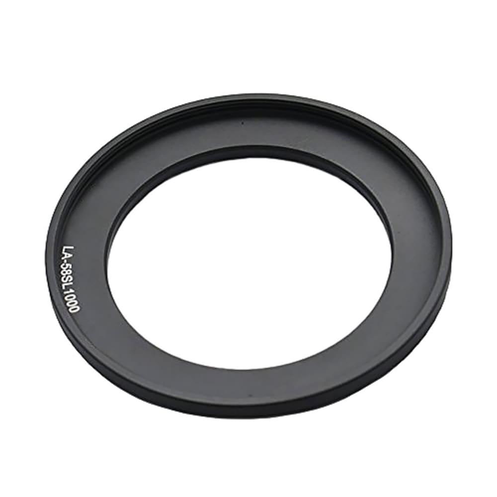 Bague d'Adaptation pour Filtre de 58mm pour Fuji FinePix SL1000, S9900W | Adaptateur de Filtre, Bague de Conversion