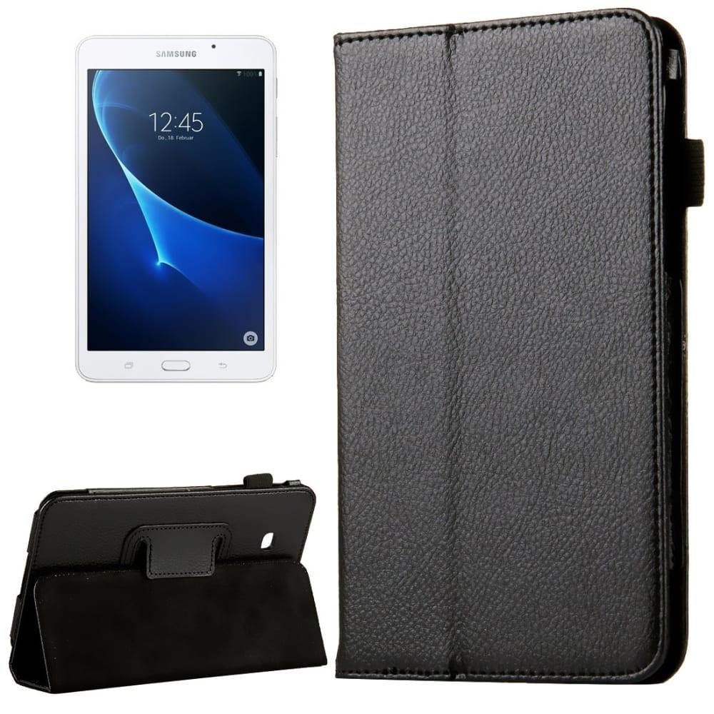 Smart Case für Samsung Galaxy Tab A 7.0 (SM-T280/SM-T285) - Kunstleder, schwarz Tasche Case Schutzhülle