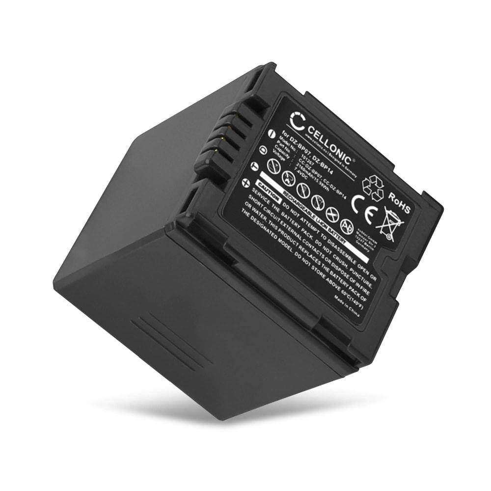 Bateria para camaras Hitachi DZ-BX35 DZ-BX37 DZ-GX20 DZ-GX25 DZ-GX3100 DZ-GX3200 DZ-GX3300 DZ-GX5000 - DZ-BP07 DZ-BP14 DZ-BP21 2100mAh Batería de repuesto