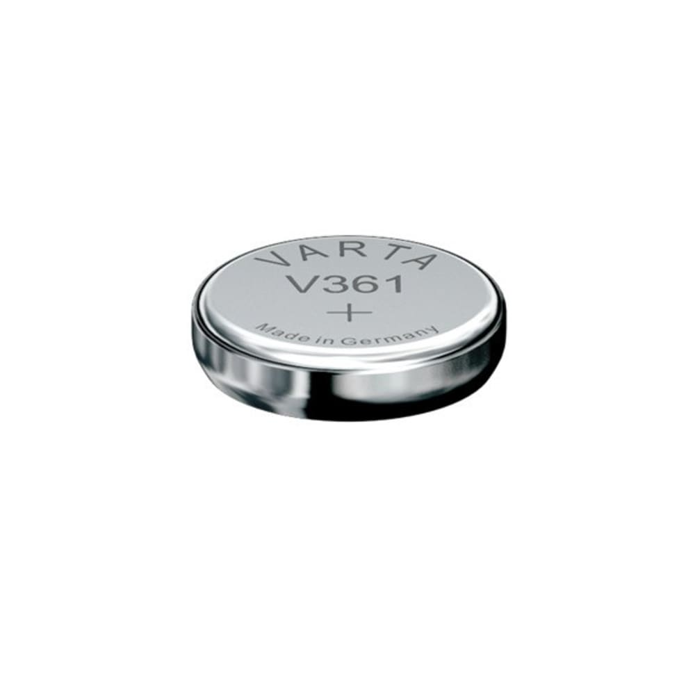 Uhrenbatterie Varta V361 SR58 / SR721W 361 (x1) Knopfbatterie Knopfzelle Zellenbatterie