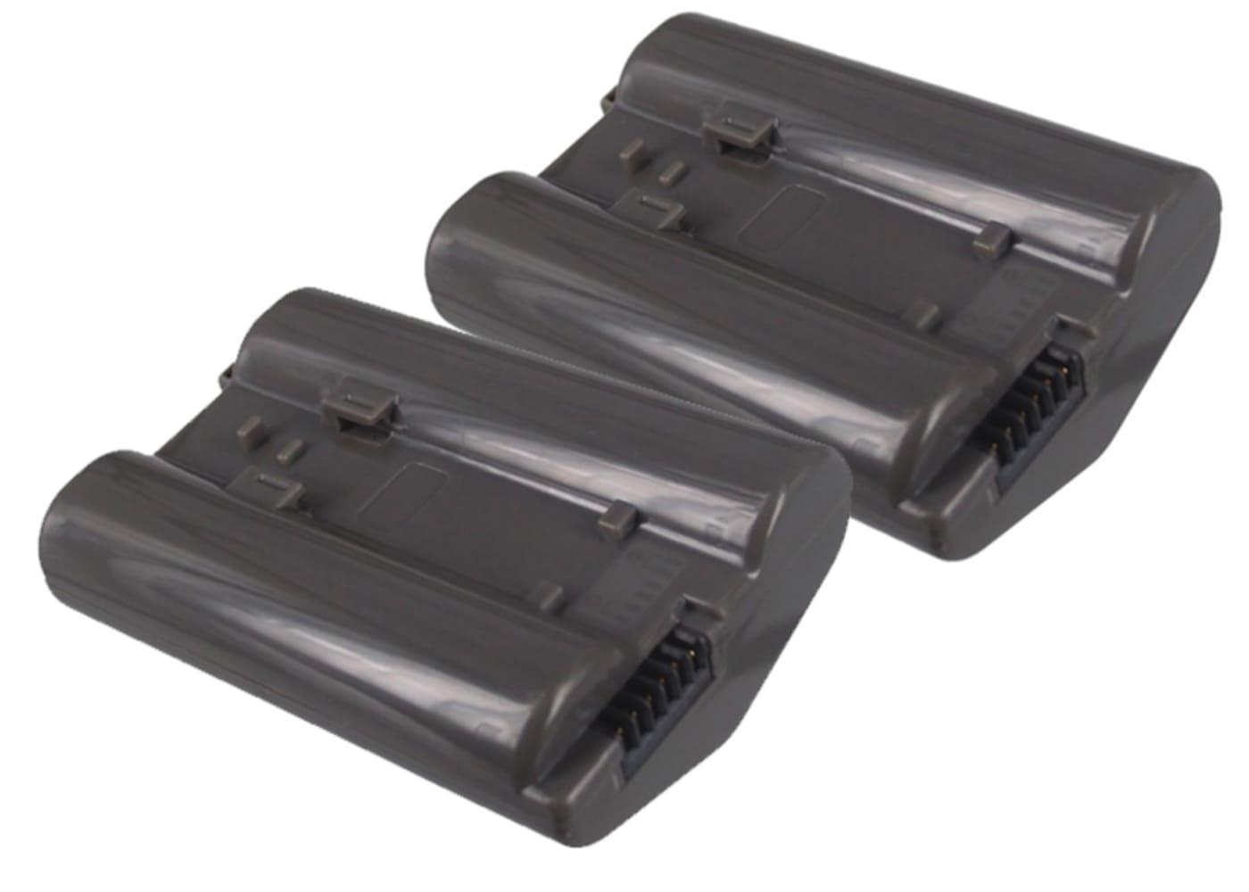 2x Batterie pour appareil photo Nikon D5 D4 D4s D6 MB-D17 - EN-EL18 EN-EL18a ENEL18a 2600mAh Batterie Remplacement