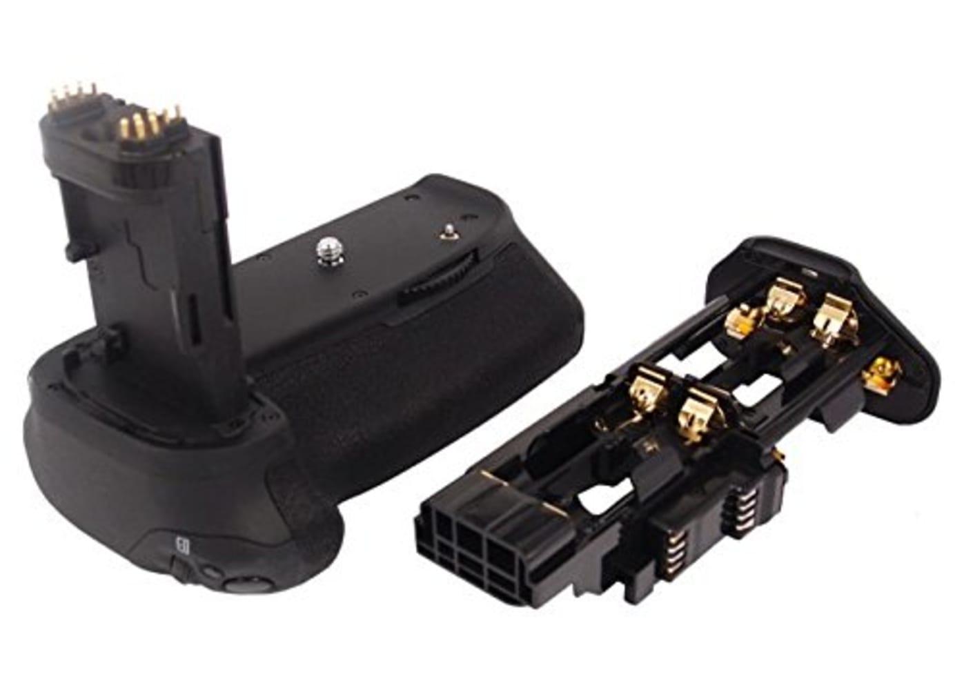 subtel® BG-E14 Presa batteria per Canon EOS 70D EOS 80D EOS 90D Portabatteria Grip, impugnatura batteria