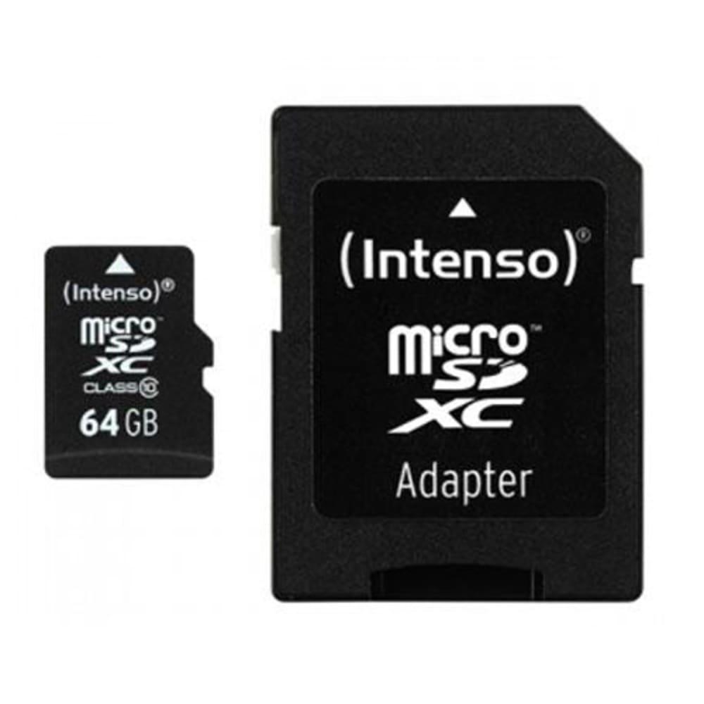Intenso Micro SD Card / Memory Card 64GB Class 10