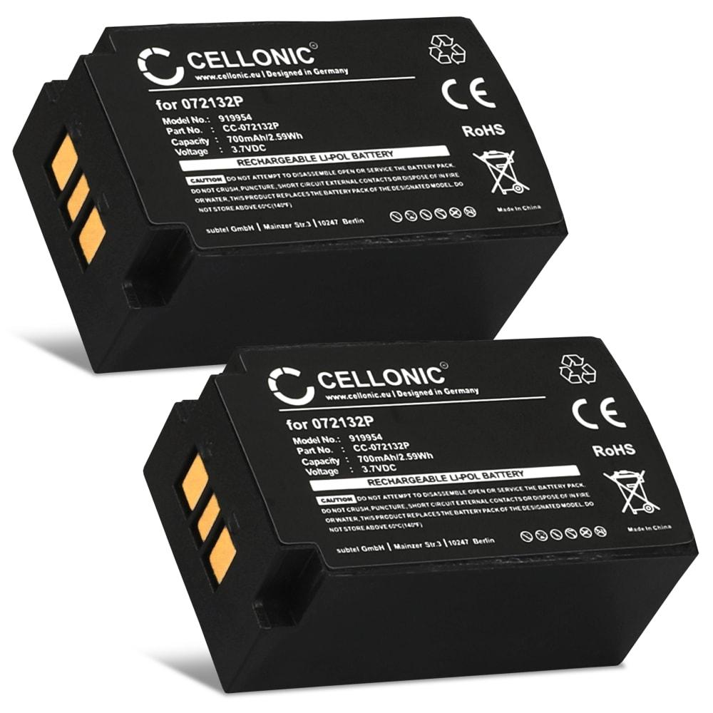 2x Batterie pour Parrot Zik 1.0 - 072132P 1|CP7/20/33-2 2D001855 3H 049349 FT652031P MCELE00151 MCELE00209 MH45586 PF056001AA PI020438AA2F001585 700mAh