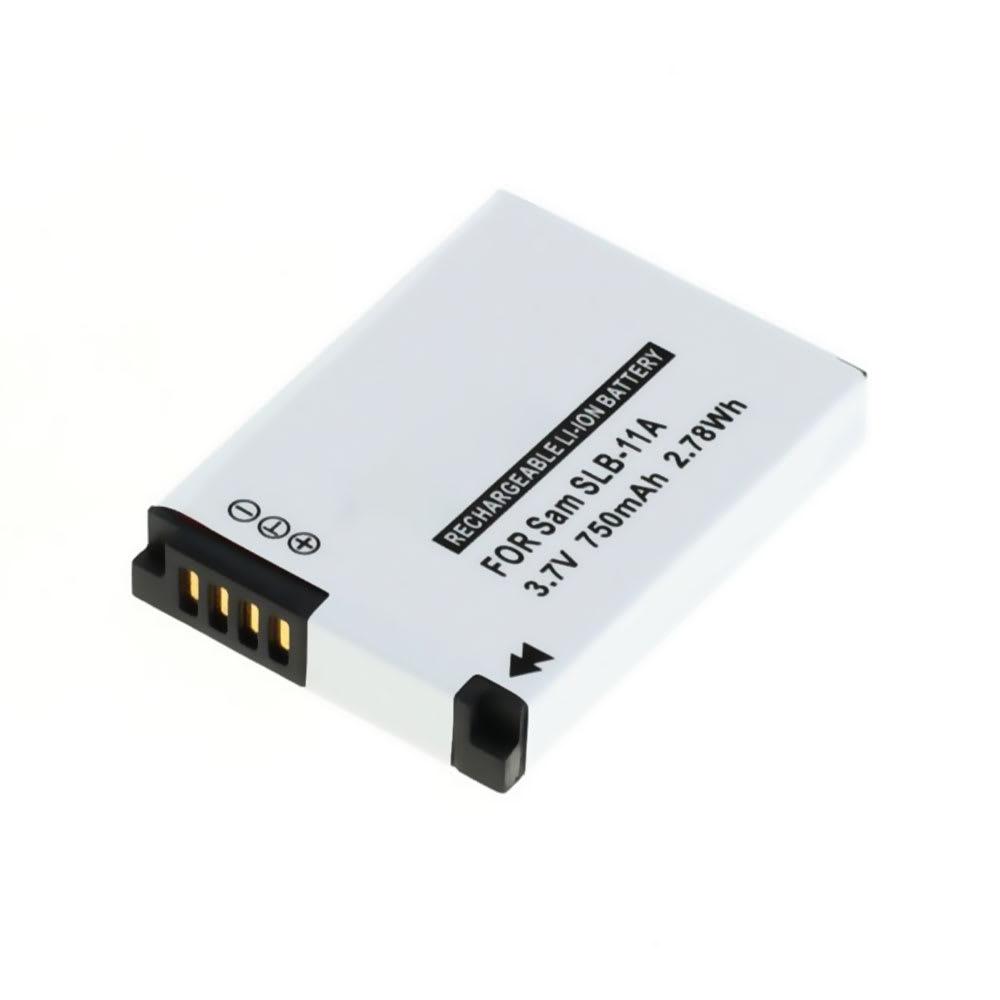 Batterij voor Samsung WB100 WB5000 WB550 WB600 WB2000 EX1 PL50 PL55 PL65 L200 L100 ES60 ES55 ST1000 TL240 CL5 camera - EA-SLB11A, SLB11A, SLB-11A 750mAh SLB-11A Vervangende Accu voor fototoestel