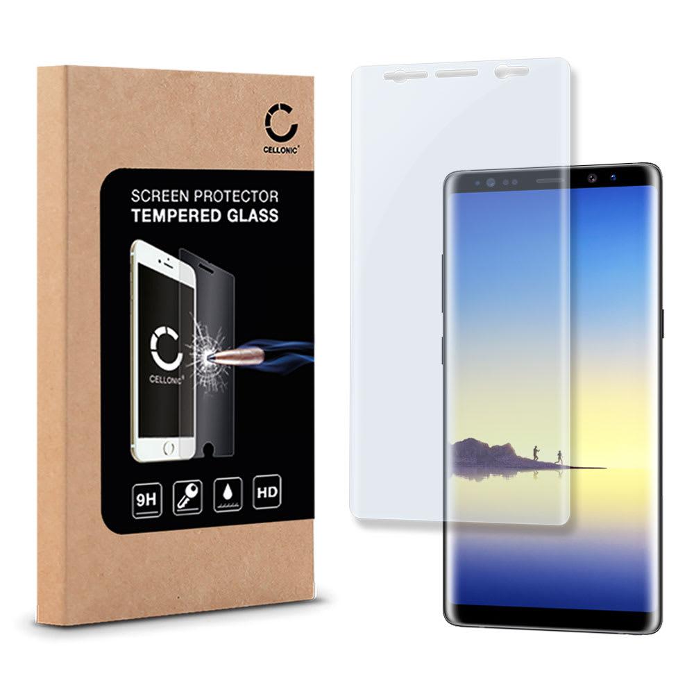 Protection d'écran en verre Samsung Galaxy Note 8 (SM-N950 / SM-N950F) (3D Full Cover, 9H, 0,33mm, Edge Glue) Verre trempé