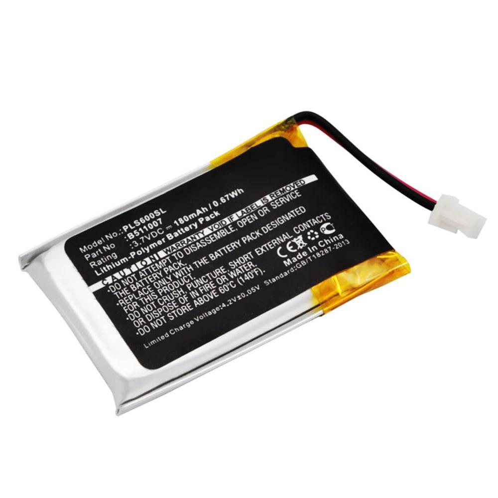 Batterie pour Plantronics CS60, Plantronics HL10 - 452128,6535801,B511007 180mAh