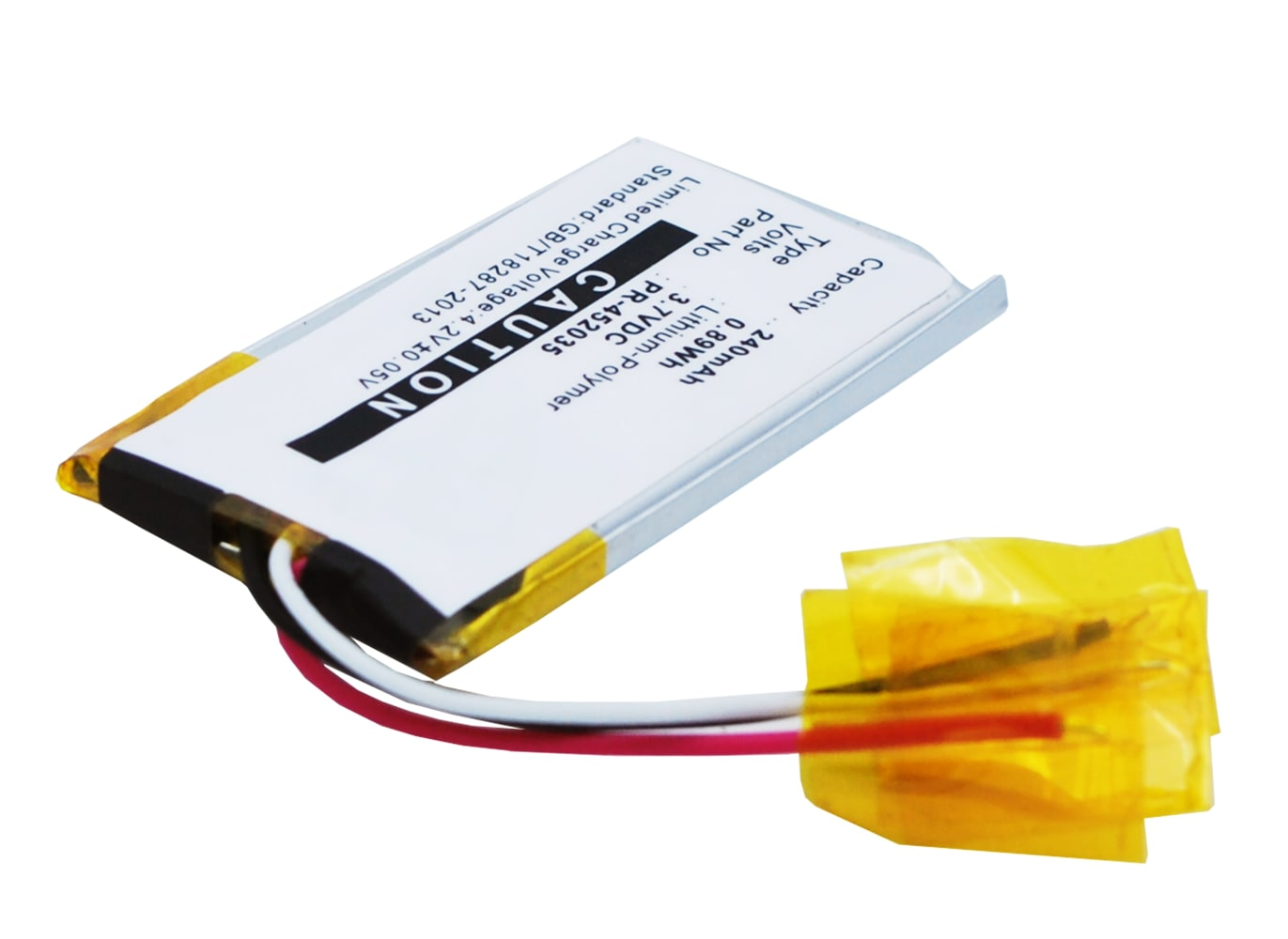 Headset Akku für Bose Quiet Comfort 20 / Bose QC 20 - PR-452035 240mAh , Kopfhörer Ersatzakku Batterie