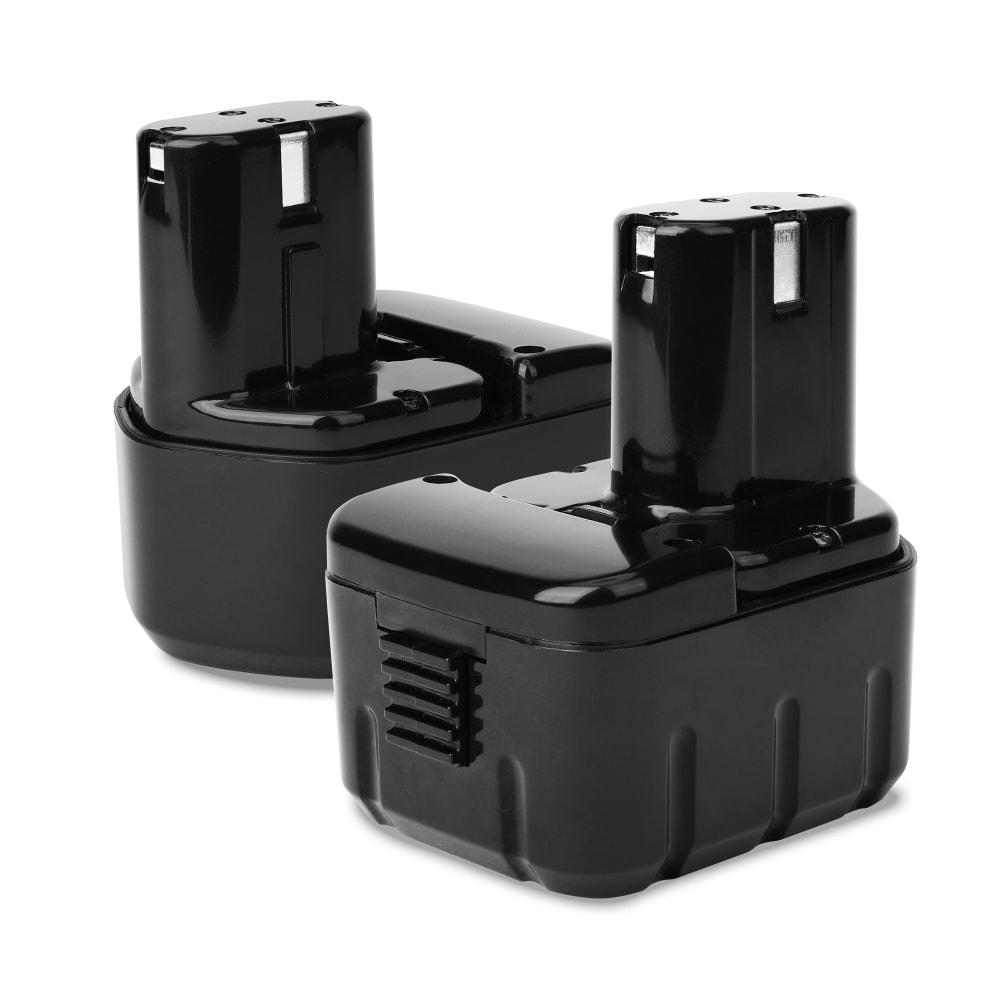 2x Batterie 12V, 3Ah, NiMH pour Hitachi DS 12DM, FDS 12DVA, DS 12DVF2,DS 12DVF3 - EB1220BL, EB1214S, BCC1215,EB1214L, EB1226HL, EB1230HL batterie de rechange pour outils électroportatifs