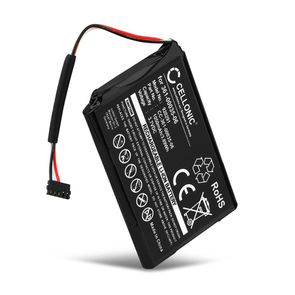 Batterie pour navigateur GPS Garmin Approach G8, Edge 1000 - 361-00035-06 DJ04EJ31B05N9 1050mAh