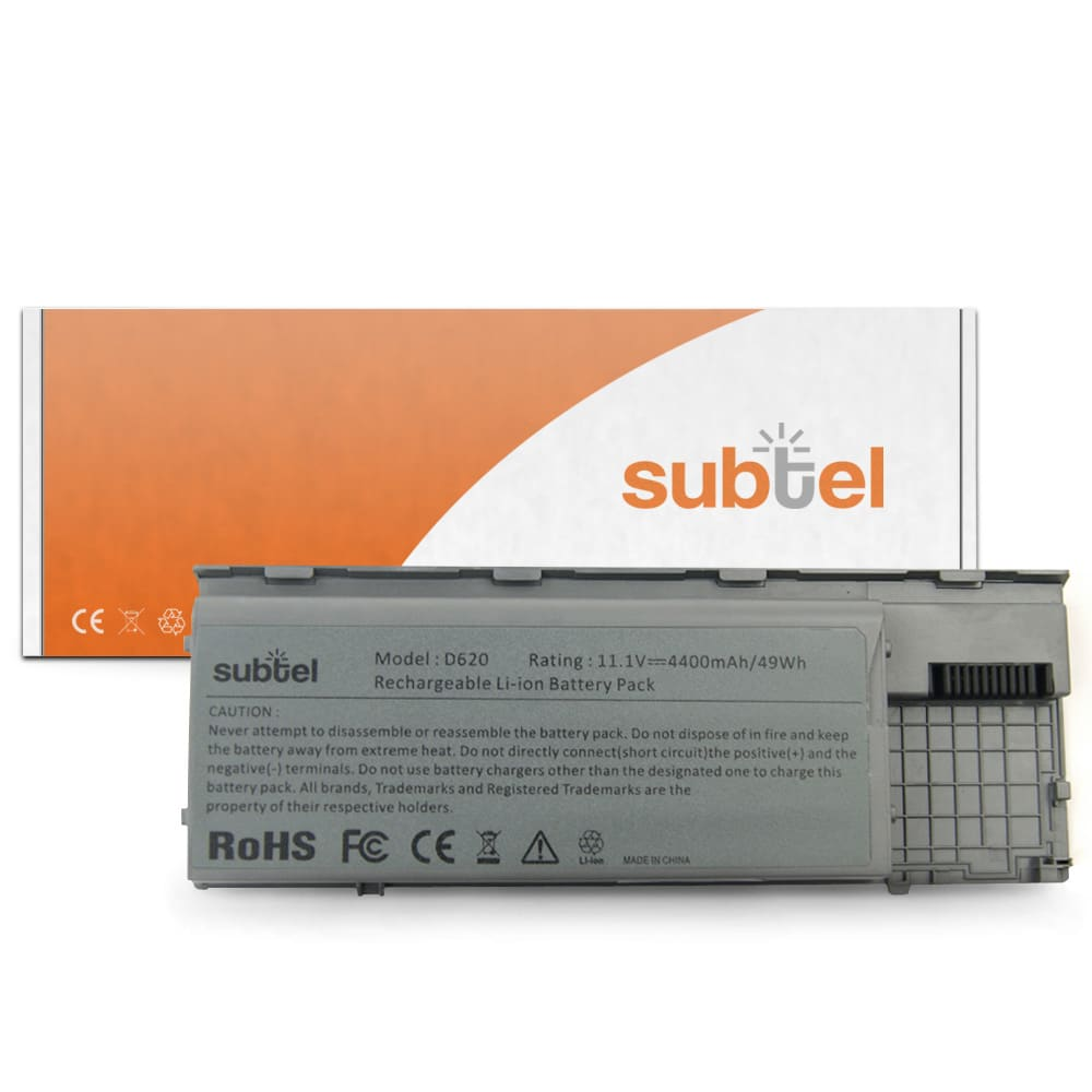 Akku für Dell Latitude D620 / Latitude D620 ATG / Latitude D630 / Latitude D630 UMA / Latitude D630 ATG - 310-9080 (4400mAh) Ersatzakku