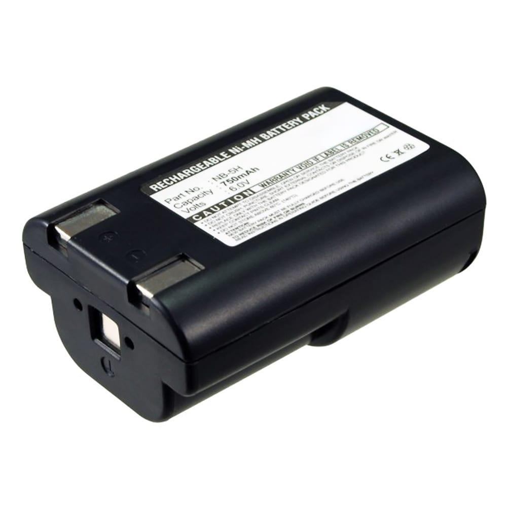 Batteri for Canon PowerShot A5 / A5 zoom / A50 / D350 / S10 / S20 - NB-5H (750mAh) reservebatteri