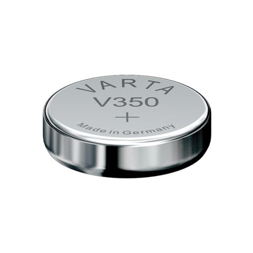Uhrenbatterie Varta V350 SR42 / SR1136SW 350 (x1) Knopfbatterie Knopfzelle Zellenbatterie