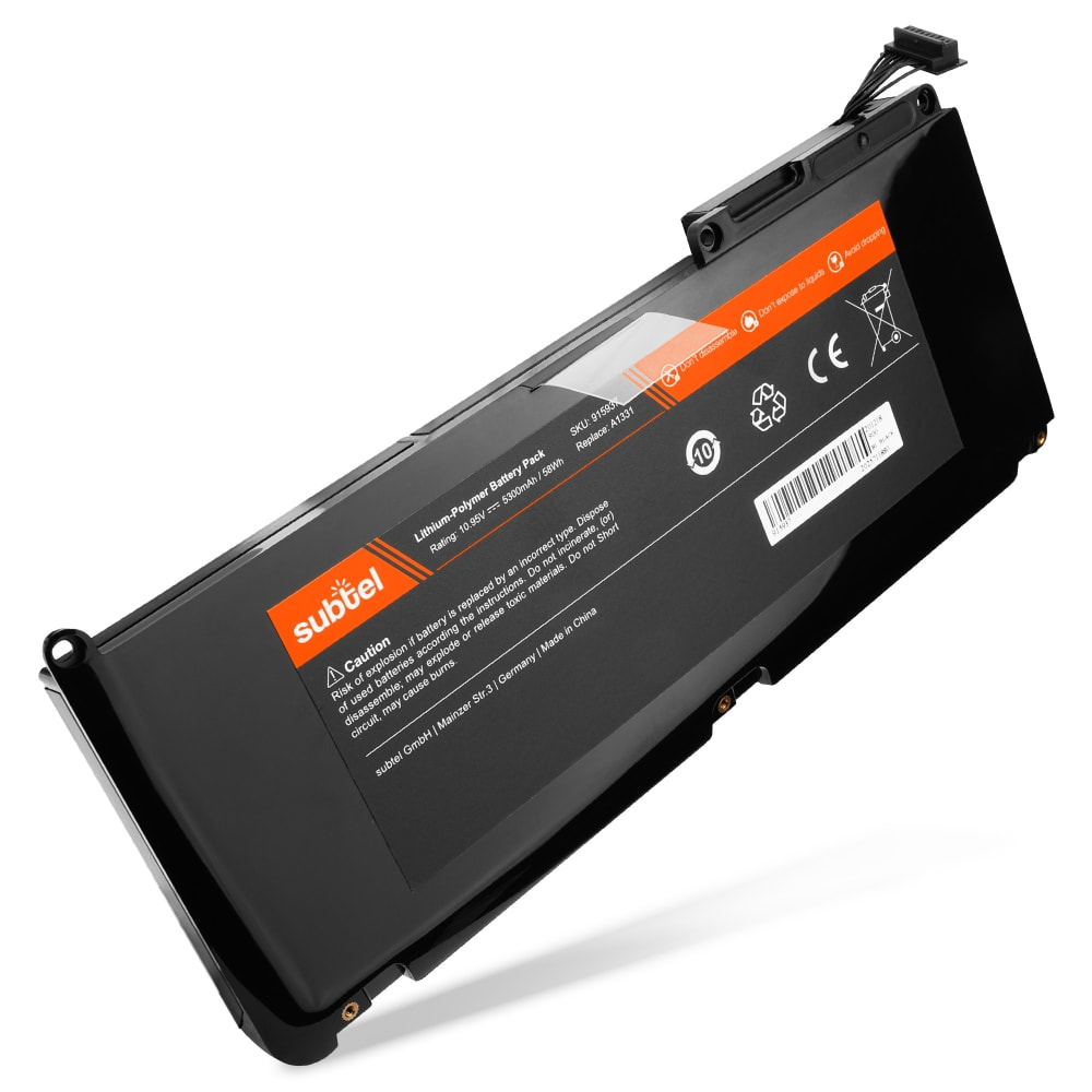 Laptop batterij voor MacBook 13 - A1342 (Late 2009 / Mid 2010) - A1331 5300mAh vervangende accu notebook