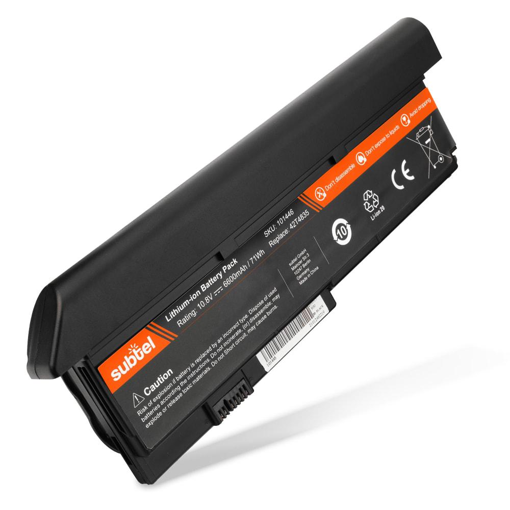 Batería para Lenovo ThinkPad X200 / X200s / X201 / X201s - 42T4835 (6600mAh) Batería de Reemplazo