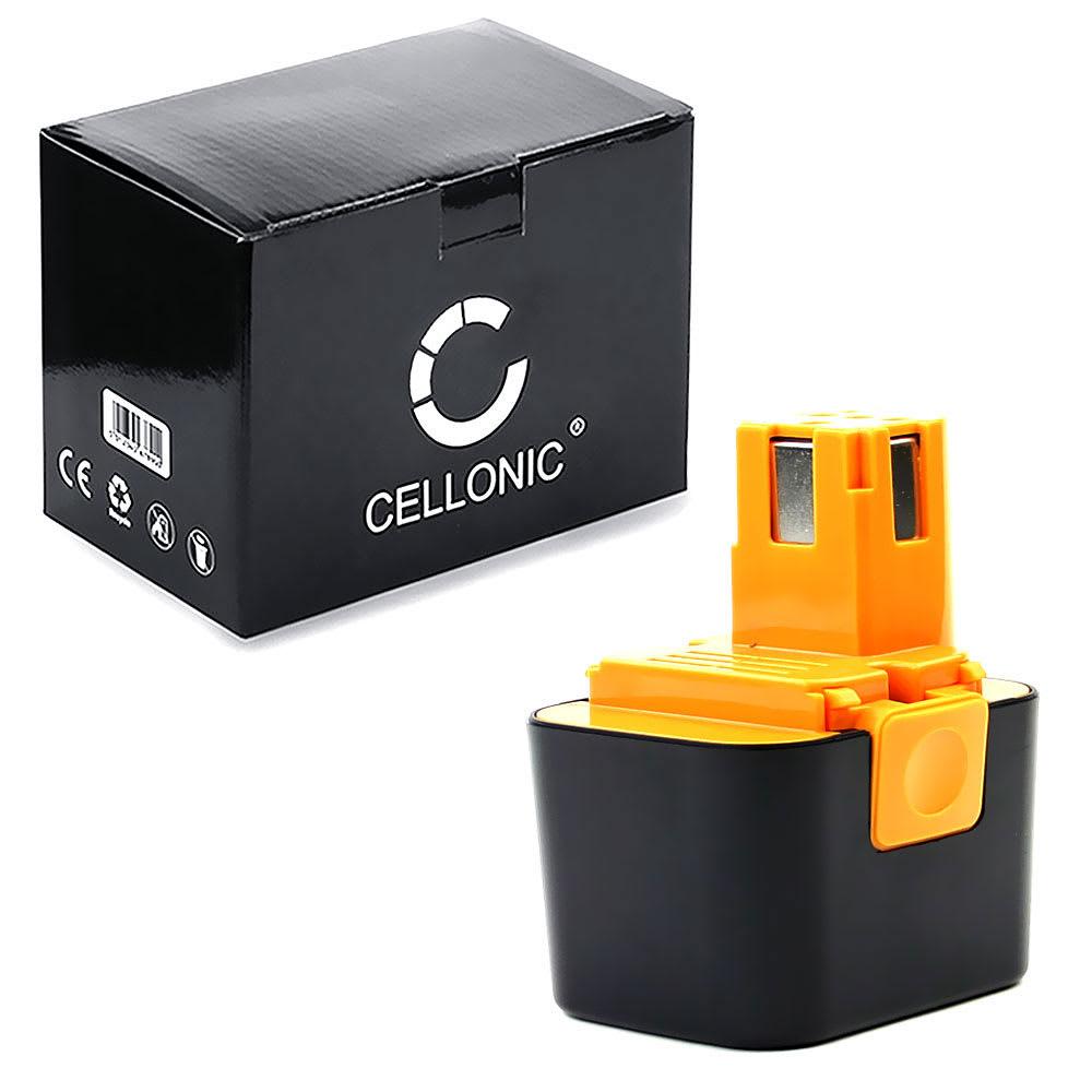 CELLONIC® EY9066, BCP-EY9065, EY9065, EY9066B, EY9166, EY9166B batteri för Panasonic EY3654, EY3654CQ, EY3653 CQ, EY3654NQW trådlösa verktyg med 7.2V, 3Ah och NiMH