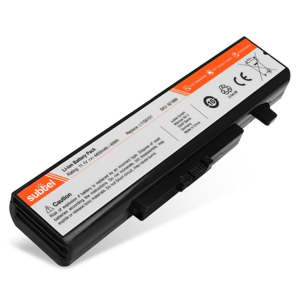Batterie de remplacement pour ordinateur portable Lenovo B480 / B585 / B595 / E430 / E535 / M580 / V385 / V585 - L11S6Y01 4400mAh