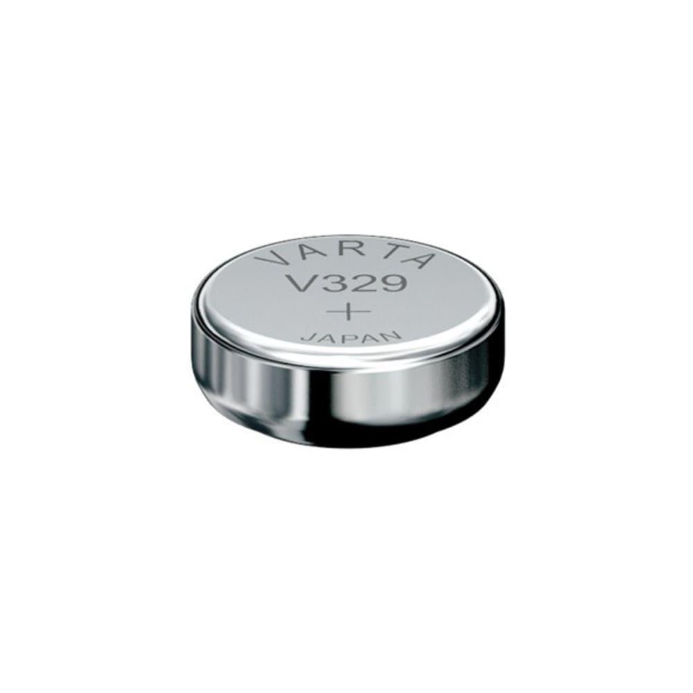 Uhrenbatterie Varta V329 SR731SW 329 (x1) Knopfbatterie Knopfzelle Zellenbatterie