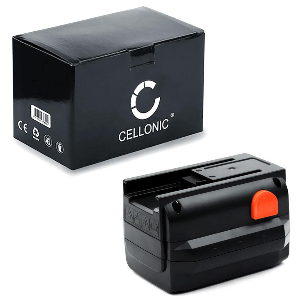 CELLONIC® 18V Li Ion Power Tool Battery for Gardena AccuCut 400 Li (8840)/ (8841), Accujet 18-Li (9335), CST 2018-Li (8865) 3Ah 8835, 8835-00.701.00, 8835-20 Battery Replacement
